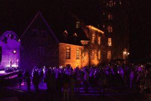 Open-Air-Konzert auf dem Schlosshof