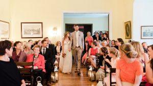 Einzug des Brautpaares
